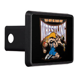 Tap Out Wrestlers Tow Hitch Cover