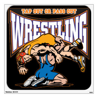 Tap Out Wrestlers Wall Decal