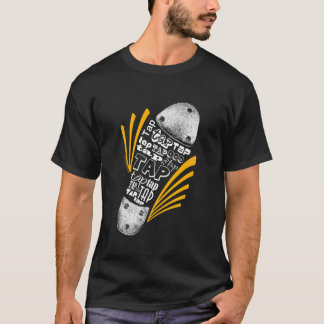 Tap Shoe Orange - Dark T-Shirt