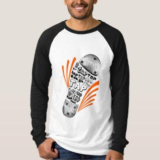 Tap Shoe Orange Tee Shirt