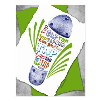 Tap Shoe - Postcard