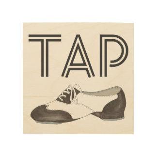 Tap Shoe Print Dance Teacher Dancer Tapdance Gift