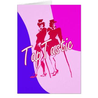 Tap Tastic Dancing Card