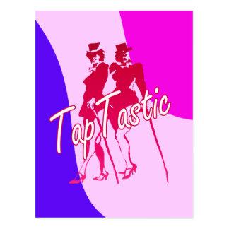 Tap Tastic Dancing Postcard