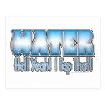 Tap That Water! Postcard
