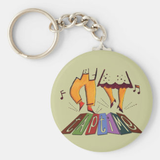 Tap Time Keychain