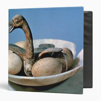 """Tapa de un tarro del alabastro adornado con un carpeta 1 1/2"""""""