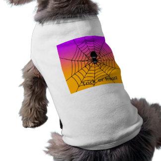 Tapa del tanque del perrito de Halloween Playera Sin Mangas Para Perro