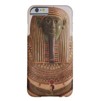 Tapa externa del sarcófago de Psametik I (664-61 Funda De iPhone 6 Barely There