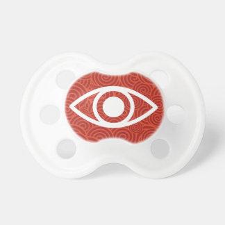Tapas del ojo mínimas chupetes de bebé