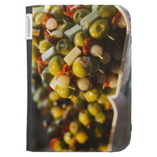 Tapas made with stuffed olives kindle cover