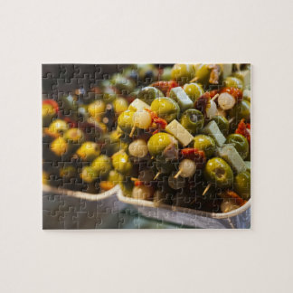 Tapas made with stuffed olives jigsaw puzzles