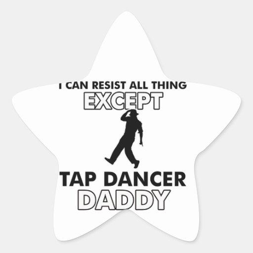 tapdance dance design sticker