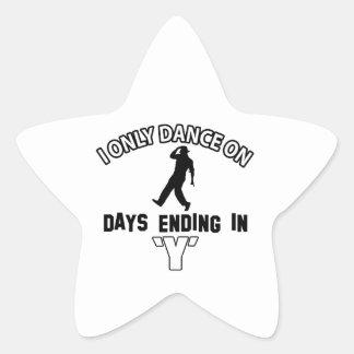 tapdance dance star sticker