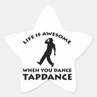 tapdance dance star stickers