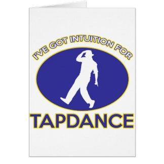 tapdance design cards