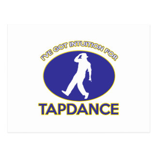 tapdance design postcards