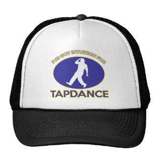 tapdance design trucker hat
