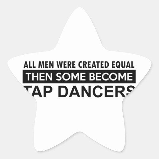 Tapdance designs stickers
