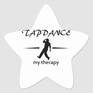 Tapdance designs sticker