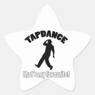tapdance designss stickers