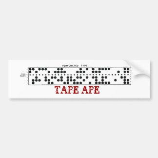 Tape Ape Bumper Sticker