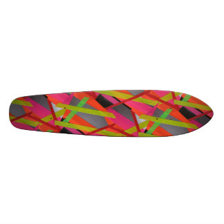 Tape Art Skateboard Deck