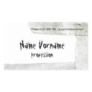 tape business card