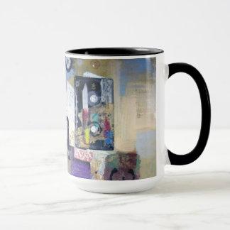 Tape cassette abstract mug