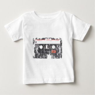 Tape Cassette faded worn distressed Baby T-Shirt
