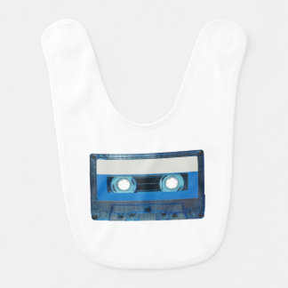 Tape cassette transparent background bib