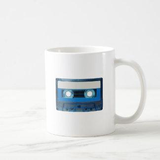 Tape cassette transparent background coffee mug