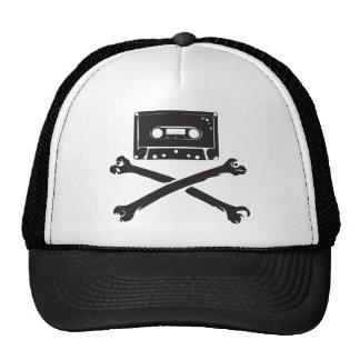 Tape & Crossbones Music Pirate Piracy Home Taping Trucker Hat