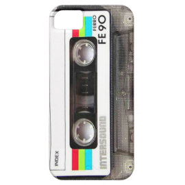 Tape Deck iPhone 5 Cases