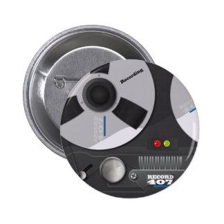 Tape Deck Recorder Button
