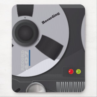 Tape Deck Recorder Mouse Pad