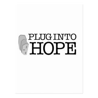 Tape en esperanza postal