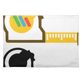 Tape measure cloth placemat