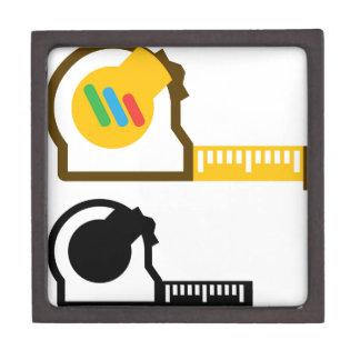 Tape measure keepsake box