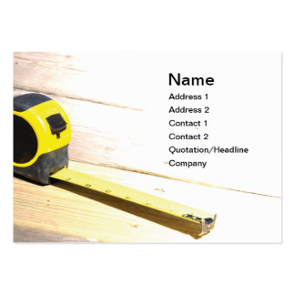 tape measure large business card