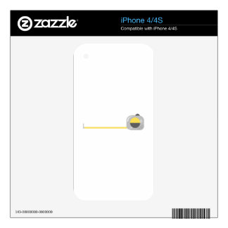 Tape Measure Skin For The iPhone 4