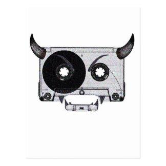 Tape Monster Postcard
