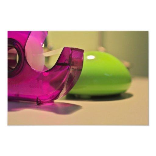 Tape + Mouse Photo Print