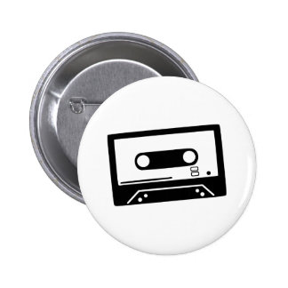 Tape - Music Pinback Buttons