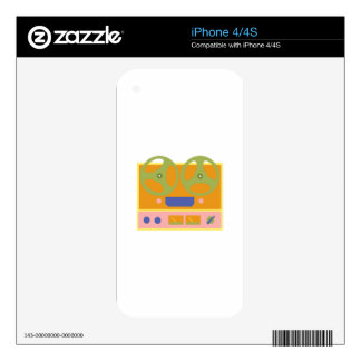 Tape Player Decals For The iPhone 4