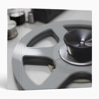 Tape Recorder 3 Ring Binder
