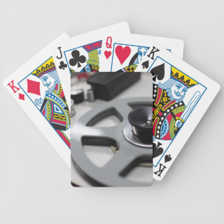 Tape Recorder Bicycle Playing Cards