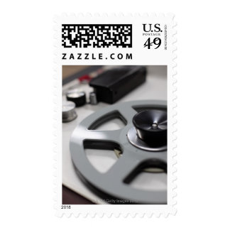 Tape Recorder Postage Stamp