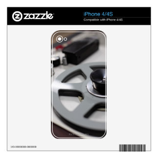 Tape Recorder Decal For iPhone 4S