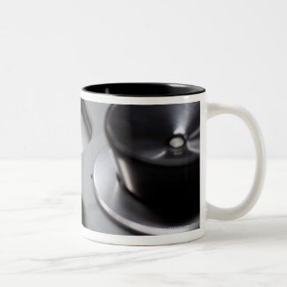 Tape Recorder Two-Tone Coffee Mug